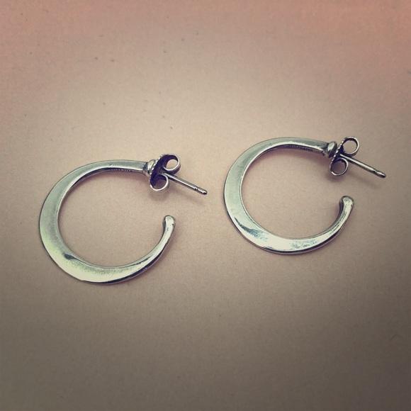 James Avery Jewelry Hoop Ear Posts Retired Poshmark